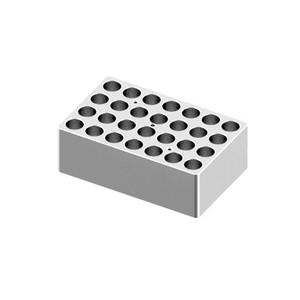 Heating Block, 5/15mL tubes, 28 holes for Digital Dry-Bath HB120-S