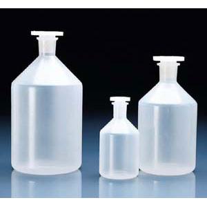 Reagent Bottle, PP (PP) 1000mL, Choose Cap, Pack/10
