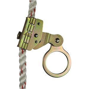 Stainless Steel Self-Tracking and Locking Removable Rope Grab