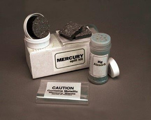 Mercury Spill Kit, Mercsorb Powder