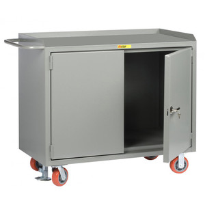 "Mobile Safety Cabinet with Locking Doors, 24"" x 48"""