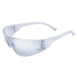 Radnor Classic Safety Glasses, Clear, Anti-Scratch Lens, case/12