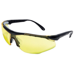 Radnor Elite Plus Safety Glasses, Smoke Mirror Amber Lens, case/12