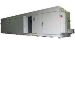 HazMat Drum Storage Building with Optional Fire Rating, 80 Drum