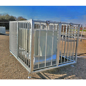 AC Cage, T-Rex 8' x 12' Roof Top Air Conditioner Protection Cage