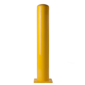 Yellow-Powder Coated Bollard