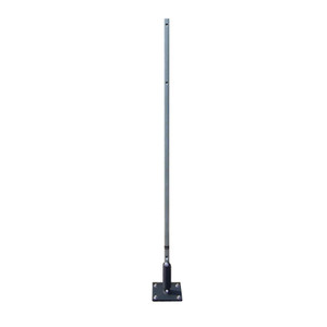 Flexible Sign Post, Steel Pole with Bendable Spring Base, Choose Height