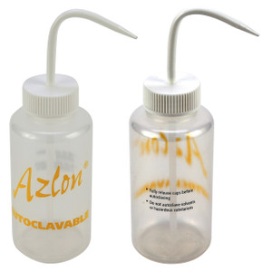 Wash Bottles, Autoclavable, PP, 500mL, pack/5