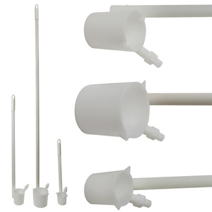 Complete Sampling Kit, Set (3) HDPE, Dippers (250, 500, 1000mL)