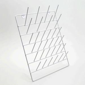 Lab Glassware Drying Rack, Mountable, Epoxy Coated Steel