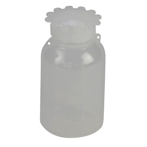 Lockable (Tamper Evident) Security Bottles, Narrow Mouth, LDPE, 50mL, case/10