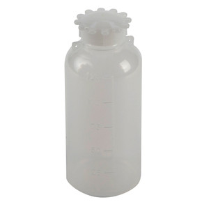 Lockable (Tamper Evident) Security Bottles, Narrow Mouth LDPE, 125mL, case/10