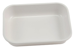 "Lab Tray, High Impact Polystyrene, 5.9"" x 3.9"" x 1.2"""