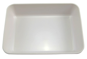 "Lab Tray, High Impact Polystyrene, 13.9"" x 10"" x 3.2"""