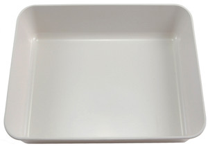 "Lab Tray, High Impact Polystyrene, 16.1"" x 11.8"" x.8"""