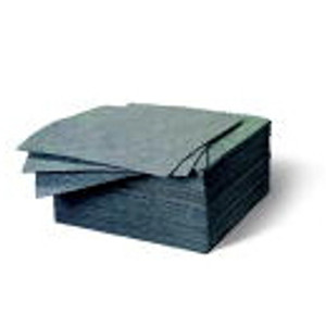 """Universal Laminated Sorbent Pads, Heavy, 15"""" x 17"""", case/100"""