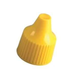 Nalgene® 312760-0020 15-415 Closure for Dropper Bottles, PP, Yellow (15-415), case/2000