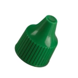 Nalgene® 312760-0040 15-415 Closure for Dropper Bottles, PP, Green (15-415), case/2000