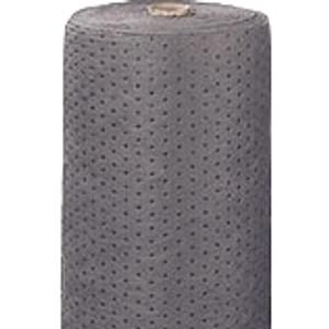 "Universal Gray Bonded Sorbent Split Rolls, Heavy, 15"" x 150', case/2"