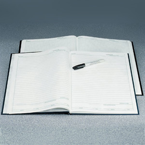 Nalgene® Lab Notebook PolyPaper, Gridded, 23.5 x 28.6cm, case/6