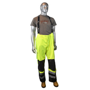 Heavy Duty Waterproof & Breathable Pants w/Bib, Each