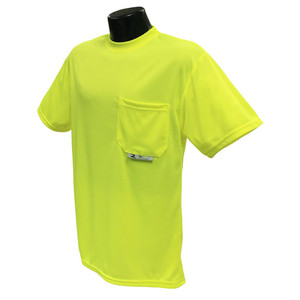 Non-Rated Short Sleeve Safety T-shirt with Max-Dri, case/24