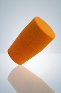 Sterile Stopper, Orange, Choose Size, Pack/10