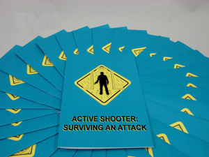 Safety Training: Active Shooter: Surviving an Attack Employee Booklet