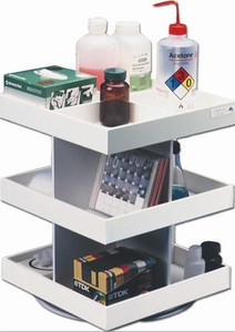 Accessory, Rotating Shelf 360 degree for Lab Cart,