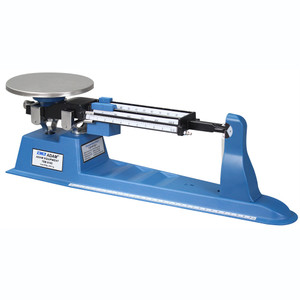 "Student Triple Beam Balance grams Scale, 610-2610 gm Capacity, 6"" Pan, Stainless Steel"