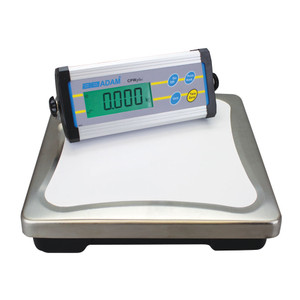 """Weighing Bench Scale, 13-440 lb Capacity, 12"""" Pan, Compact Display"""