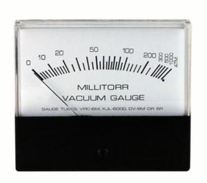 Vacuum Gauges, Analog, 1000-1 Microns, Each, Choose Options