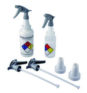 PP Trigger Sprayers with 53mm Cap Adapters, case/20