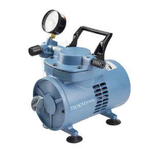 Chemical Resistant Diaphragm Vacuum Pump, 230V, 37 LPM