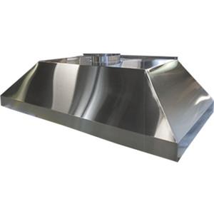 "HEMCO 23130 Island Canopy Hood, Stainless Steel, 36"" x 24"" x 18"""