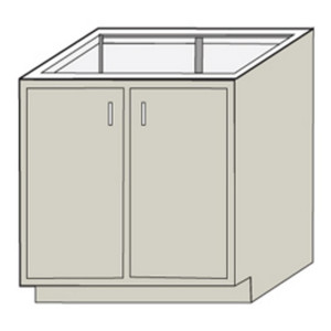 "HEMCO 54811 Standard Base Cabinet, 48"" x 22"" x 35"""