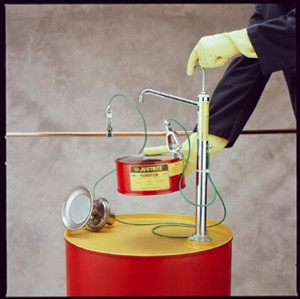Flammable Drum Pump, FM Approved, Stainless Steel