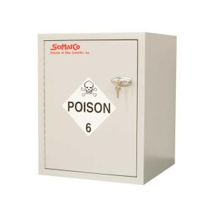 SciMatCo SC6080 Bench Poison Cabinet