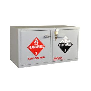SciMatCo SC9041 Mini Stak-a-Cab Combination Acid/Flammables Cabinet