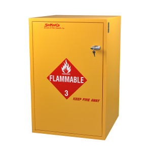 SciMatCo SC7023 Floor Flammables Cabinet with Self-Closing Door