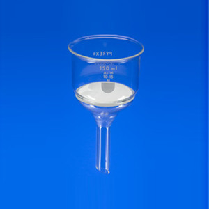 Chemglass CG-8590-60M 60mL Funnel Buchner with Medium Porosity, 6/Case