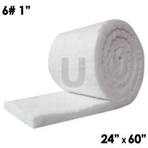 "UniTherm Ceramic Fiber Blanket, 1"" x 24"" x 60"", 6lb"