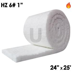 """Ceramic Fiber Blanket, 8lb, 1"""", 24"""" x 25'"""