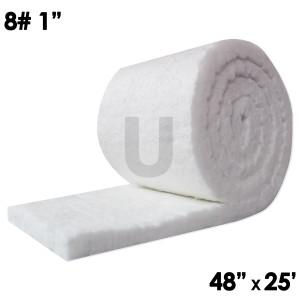 """Ceramic Fiber Blanket, 8lb, 1"""", 48"""" x 25'"""
