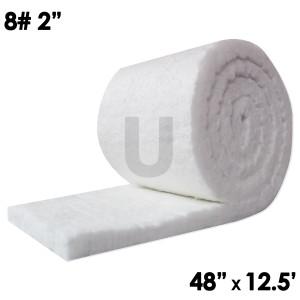 """Ceramic Fiber Blanket, 8lb, 2"""", 48"""" x 12.5'"""