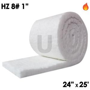 """Ceramic Fiber Blanket, HZ, 8lb, 1"""", 24"""" x 25'"""