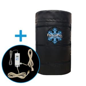 "UniTherm FreezePro Drum Insulation Jacket, 78"" x 34"" & ETC Temp Controller"