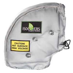 """UniTherm ISO-Elbow Pipe Jacket, 8""""L x 90 Degree"""