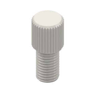 Replacement Plugs for standard port Cap, 1/4-28 hole, pack/10