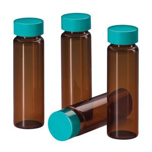 Chemglass CG-4905-06 Sample 40ml Capacity Vials, 28mm D X 95mm L